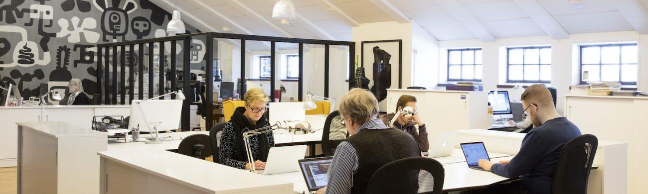 Block Stockholm kontorshotell och co-working space för kreatörer.